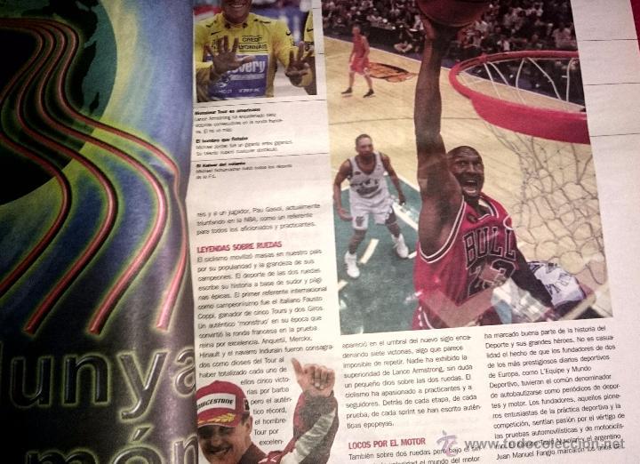 Coleccionismo deportivo: Cent anys d´emocions - mundo deportivo - Cien años de emociones - EN CASTELLANO ( Gran formato ) - Foto 7 - 49453366