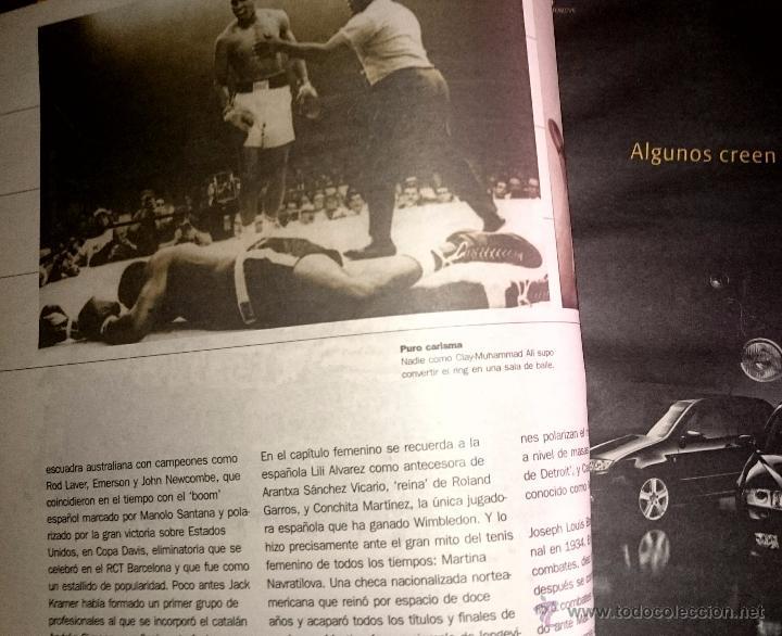 Coleccionismo deportivo: Cent anys d´emocions - mundo deportivo - Cien años de emociones - EN CASTELLANO ( Gran formato ) - Foto 10 - 49453366