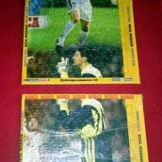 Coleccionismo deportivo: MEGAPUZZLE MARCA - ENTREGA 10 Y 15. Lote 49454403