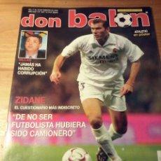 Coleccionismo deportivo: DON BALON Nº 1427 - 2003 - ZIDANE - REAL SOCIEDAD - MUNITIS - FERNANDO SALES - POSTER ATHLETIC CLUB. Lote 49462675