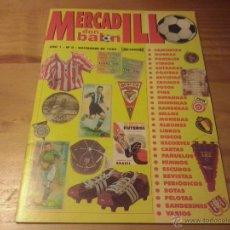 Coleccionismo deportivo: MERCADILLO DON BALON Nº 0 - NOVIEMBRE 1998. Lote 49537071