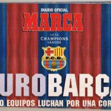 Colecionismo desportivo: DIARIO OFICIAL MARCA SUPLEMENTO FEBRERO 1995 EUROBARÇA. Lote 49560047