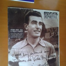 Coleccionismo deportivo: VIDA DEPORTIVA PERIÓDICO FÚTBOL PORTADA CAMPEÓN TOUR DE FRANCIA CICLISMO LOUISON BOBET 1953. Lote 49579526