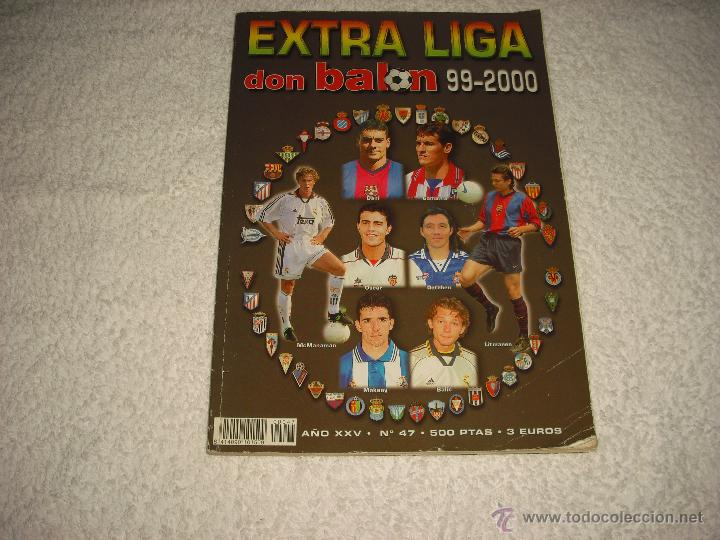 DON BALON EXTRA LIGA 1999 2000, Nº 47 (Coleccionismo Deportivo - Revistas y Periódicos - Don Balón)