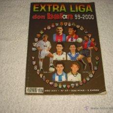 Coleccionismo deportivo: DON BALON EXTRA LIGA 1999 2000, Nº 47. Lote 49663021