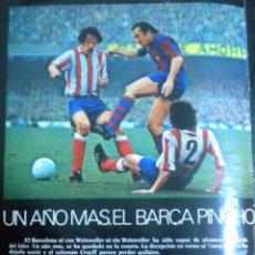 Coleccionismo deportivo: DON BALON DB NUMERO 30 AÑO 1976 ZALBA REAL ZARAGOZA 100 PARTIDOS CRUYFF. Lote 49760209