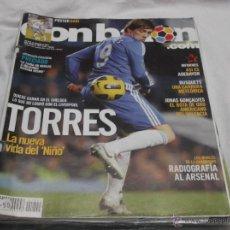 Coleccionismo deportivo: DON BALON Nº 1841. TORRES. ADEBAYOR. BUSQETS. JONAS GONÇALVES. RADIOGRAFÍA AL ARSENAL. PRECIADO.. Lote 236109605