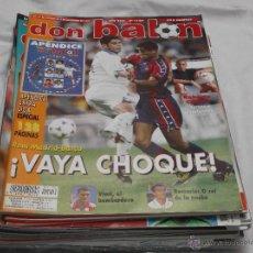 Coleccionismo deportivo: DON BALON Nº 1150. REAL MADRID- BARÇA. ROMARIO. VIERI. EXTRA LA LIGA DON BALÓN. ROBERTO CARLOS.. Lote 49871859