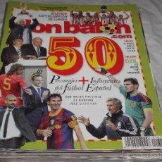 Coleccionismo deportivo - DON BALON Nº 1818. PERSONAJES MAS INFLUYENTES DEL FUTBOL ESPAÑOL. OZIL. ATLETICO SUPERCAMPEON. - 163832348