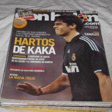 Coleccionismo deportivo: DON BALON Nº 1815. HAROS DE KAKA. KARANKA. THIAGO. ORIOL ROMEU. CANALES. NUEVA ITALIA.. Lote 236109830