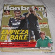 Coleccionismo deportivo - DON BALON Nº 1813. PEP VS MOU. DEL NIDO. SEVILLA. CANALES. SOLDADO EN POSTER. BARCELONA. RFEF - 163832202