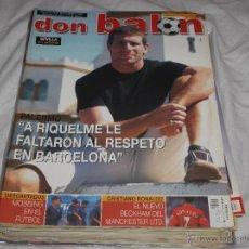 Coleccionismo deportivo: DON BALON Nº 1458. PALERMO. RIQUELME. CRISTIANO RONALDO. BECKHAM. CHAMPIONS. SEVILLA EN POSTER.. Lote 243534120