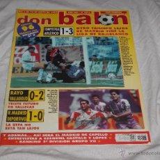 Collectionnisme sportif: DON BALON Nº 1073. ATLÉTICO. VALLADOLID. LA UEFA. EZEQUIEL CASTILLO. LUIS ENRIQUE. CAPELLO.. Lote 49919835