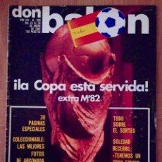 Coleccionismo deportivo: DON BALON 328 EXTRA MUNDIAL 82 ESPAÑA - REAL SOCIEDAD - ARCONADA - ARKONADA. Lote 42712155