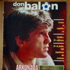 Coleccionismo deportivo: REVISTA DON BALON 398 ARKONADA REAL SOCIEDAD ARCONADA. Lote 42772953