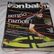 Coleccionismo deportivo: DON BALON Nº 1787. SERGIO RAMOS. BENZEMA. LLUIS BASSAT. INIESTA. BARÇA. GUTI. CRISTIANO RONALDO.. Lote 236108170