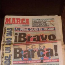 Coleccionismo deportivo: PERIODICO DEPORTIVO MARCA COMPLETO 8 JUNIO 1992 - FUTBOL CLUB BARCELONA GANA LA LIGA TEMPORAD 91/92. Lote 50091418