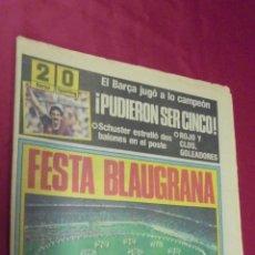 Coleccionismo deportivo: SPORT. Nº1936. 31 MARZO 1985. BARCELONA 2 - SPORTING 0.EL BARÇA HIZO HONOR A SU TITULO DE CAMPEÓN.. Lote 50164306