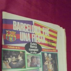 Coleccionismo deportivo: SPORT. Nº 1931. 26 MARZO 1985. EXTRA BARÇA CAMPIÓ !. 64 PAGS. BARCELONA FUE UNA FIESTA.. Lote 50164675