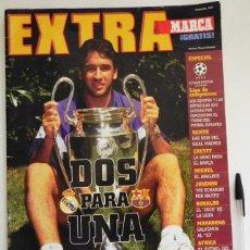 Coleccionismo deportivo: EXTRA MARCA ESPECIAL LIGA DE CAMPEONES BETIS REAL MADRID FC BARCELONA FÚTBOL DEPORTE CHAMPIONS UEFA. Lote 50266765