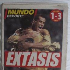 Coleccionismo deportivo: PERIÓDICO MUNDO DEPORTIVO 21-11-01. ÉXTASIS. Lote 50295868