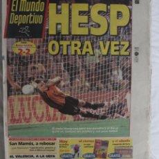 Coleccionismo deportivo: PERIÓDICO MUNDO DEPORTIVO 26-08-98. HESP OTRA VEZ. Lote 50295874