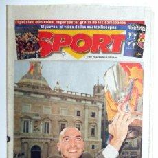 Coleccionismo deportivo: FC BARCELONA FUTBOL CAMPEON RECOPA DE EUROPA 1997 DIARIO SPORT.GUARDIOLA RONALDO. Lote 50343775