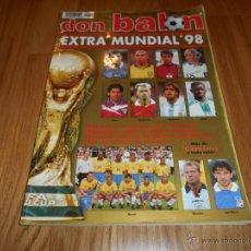 Coleccionismo deportivo: DON BALON - EXTRA MUNDIAL FRANCIA 98 B.E.. Lote 50494965