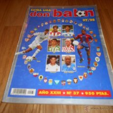 Coleccionismo deportivo: EXTRA DON BALON LIGA 97/98 - ESPECIAL GUIA LIGA FUTBOL TEMPORADA 1997/1998. Lote 50495067