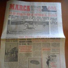Coleccionismo deportivo: DIARIO MARCA 8 - OCTUBRE - 1961 - Nº 6148. Lote 50519586