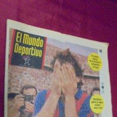 Coleccionismo deportivo: MUNDO DEPORTIVO. Nº 21.894. 8 JUNIO 1992. EL BARCELONA CAMPEON DE LA LIGA 91 - 92.. Lote 50653727