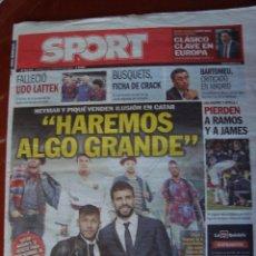 Coleccionismo deportivo: PERIODICO SPORT 5/2/2015 HAREMOS ALGO GRANDE. Lote 50714971