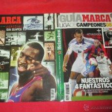 Coleccionismo deportivo: DOS GUIAS MARCA OLIMPIADA SIDNEY 2000 Y LIGA CAMPEONES 2008. Lote 50733427
