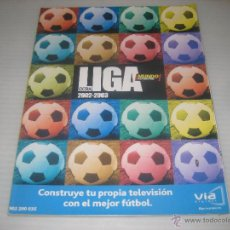 Coleccionismo deportivo: MUNDO DEPORTIVO EXTRA LIGA 2002-03. Lote 50766199