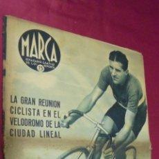 Coleccionismo deportivo: MARCA. Nº 181. 28 JULIO 1942. THIETARD, VENCEDOR EN LA COPA DE CONSOLACIÓN DE LA VUELTA A ESPAÑA.. Lote 50803988