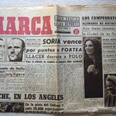 Coleccionismo deportivo: DIARIO MARCA, 11 DE JULIO DE 1943. Nº 196. Lote 50891082
