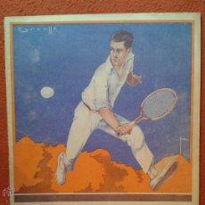 Coleccionismo deportivo: REVISTA SPORT MUY ANTIGUA. ESPECIAL DE TENIS. FECHA: 12-02-1924. Lote 50929041