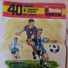 Coleccionismo deportivo: EL MUNDO DEPORTIVO 40 AÑOS DE CAMPEONATOS NACIONALES DE LIGA - NOVIEMBRE DE 1968. Lote 51112918