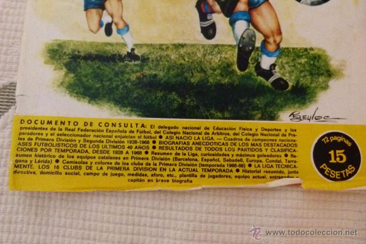 Coleccionismo deportivo: EL MUNDO DEPORTIVO 40 AÑOS DE CAMPEONATOS NACIONALES DE LIGA - NOVIEMBRE DE 1968 - Foto 2 - 51112918