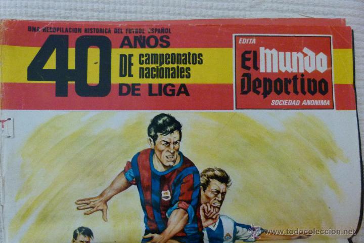 Coleccionismo deportivo: EL MUNDO DEPORTIVO 40 AÑOS DE CAMPEONATOS NACIONALES DE LIGA - NOVIEMBRE DE 1968 - Foto 3 - 51112918