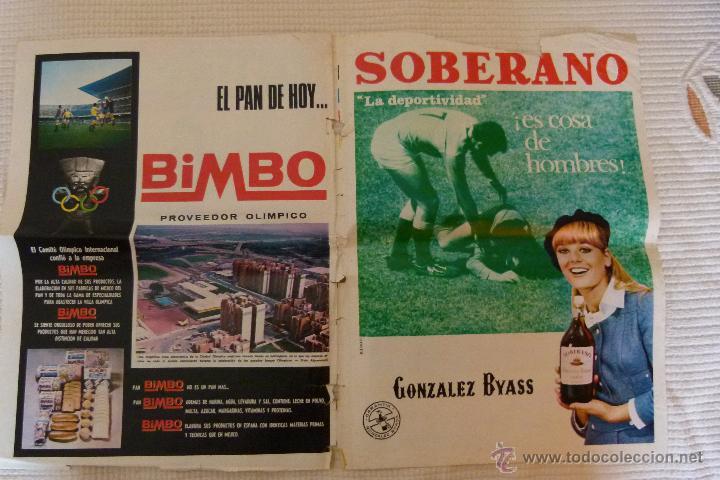 Coleccionismo deportivo: EL MUNDO DEPORTIVO 40 AÑOS DE CAMPEONATOS NACIONALES DE LIGA - NOVIEMBRE DE 1968 - Foto 5 - 51112918