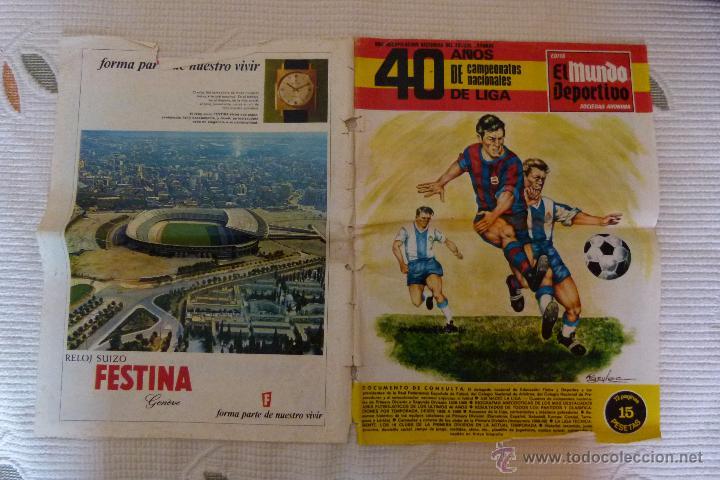 Coleccionismo deportivo: EL MUNDO DEPORTIVO 40 AÑOS DE CAMPEONATOS NACIONALES DE LIGA - NOVIEMBRE DE 1968 - Foto 6 - 51112918