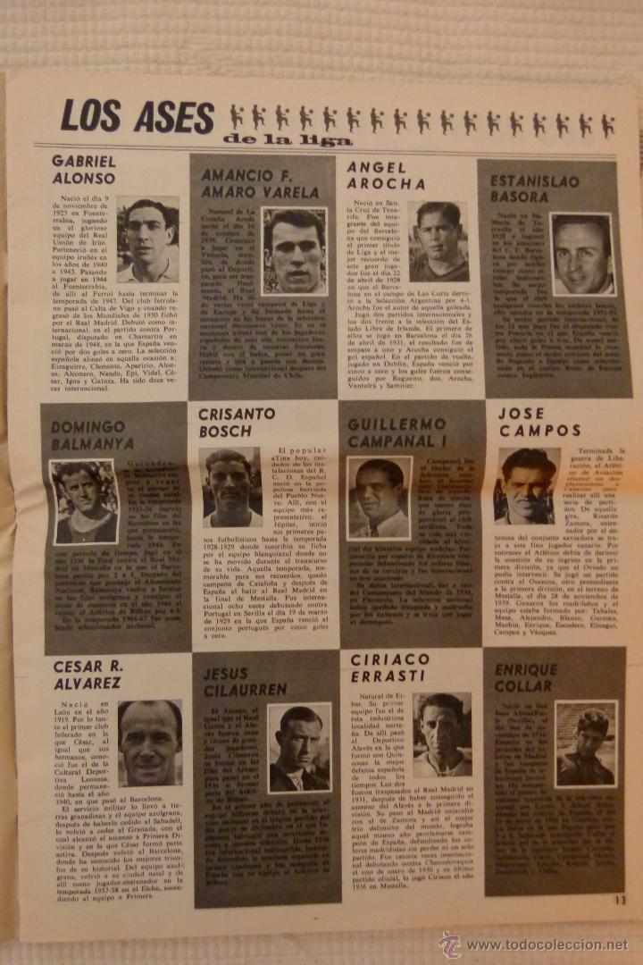 Coleccionismo deportivo: EL MUNDO DEPORTIVO 40 AÑOS DE CAMPEONATOS NACIONALES DE LIGA - NOVIEMBRE DE 1968 - Foto 10 - 51112918