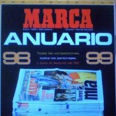 Coleccionismo deportivo: ANUARIO MARCA 1998 99 REAL MADRID CAMPEON EUROPA MUNDIAL FUTBOL FRANCIA ZIDANE . Lote 51204388