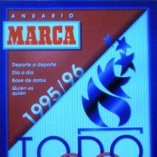 Coleccionismo deportivo: ANUARIO MARCA 1995-96 HOUSTON ROCKETS REGRESO MICHAEL JORDAN REAL MADRID CAMPEON COPA EUROPA BASKET. Lote 51207111