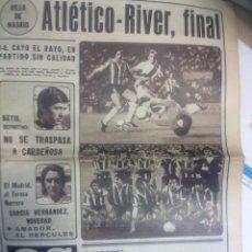 Coleccionismo deportivo: DIARIO AS 10 AGOSTO DE 1978. Lote 51243706