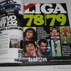 Coleccionismo deportivo: REVISTA DON BALON NUM 147 AÑO IV AL NUM 162 ( ENTRE ELLOS EL EXTRA LIGA 1978 / 79 ). Lote 51317375