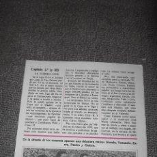Coleccionismo deportivo: DON BALON FASCICULO HISTORIA DEL FUTBOL ESPAÑOL AT.BILBAO CAPITULO 2-3. Lote 51356465