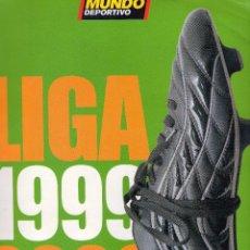 Coleccionismo deportivo: FÚTBOL REVISTA MUNDO DEPORTIVO. ESPECIAL LIGA 1999 - 2000. Lote 51431657