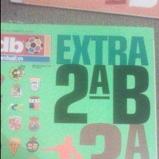 Coleccionismo deportivo: EXTRA LIGA DON BALON 2B Y 3. Lote 51441153